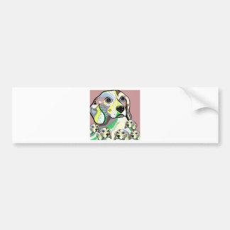 Adesivo De Para-choque Lebreiro e paleta de cores macia dos bebês