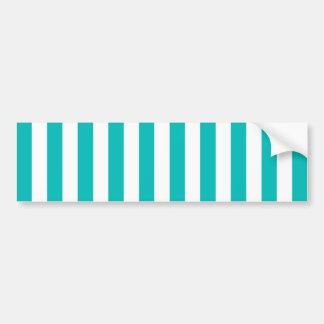 Adesivo De Para-choque Listras verticais do Aqua