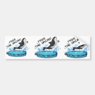 ADESIVO DE PARA-CHOQUE LIVRE AS ORCAS!