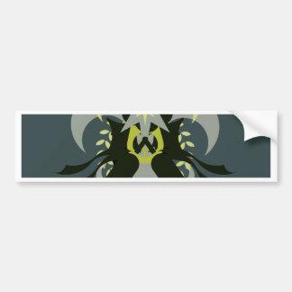 Adesivo De Para-choque Loki da abstracção sete