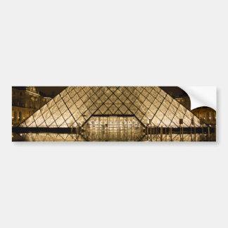 Adesivo De Para-choque Louvre, Paris/France