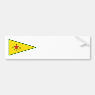 Adesivo De Para-choque Lutadores curdos da liberdade