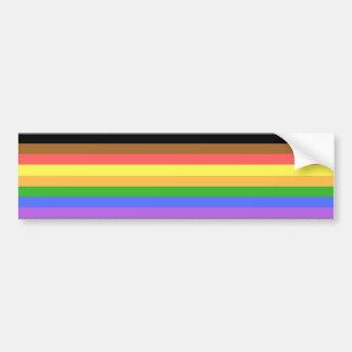 Adesivo De Para-choque Mais colorem mais orgulho