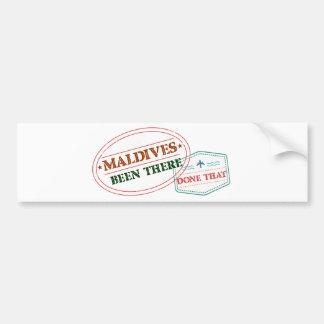 Adesivo De Para-choque Maldives feito lá isso