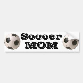 Adesivo De Para-choque Mamã do futebol - autocolante no vidro traseiro