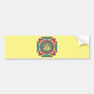 Adesivo De Para-choque Mandala de Ganesha