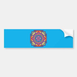 Adesivo De Para-choque Mandala de Sri Yantra