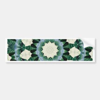 Adesivo De Para-choque Mandala do azul verde e Cerulean de Sacramento
