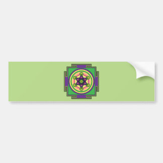 Adesivo De Para-choque Mandala do cubo de Metatron