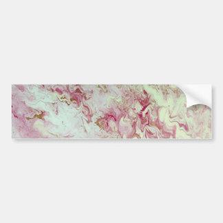 Adesivo De Para-choque Mármore cor-de-rosa