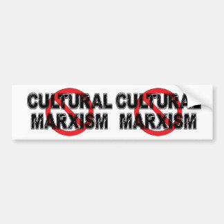 Adesivo De Para-choque Marxismo cultural da proibição