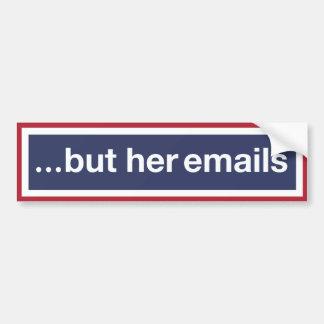 Adesivo De Para-choque … mas seus email