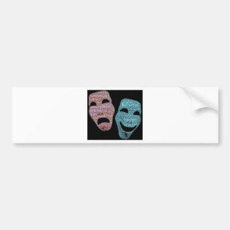 Adesivo De Para-choque máscara