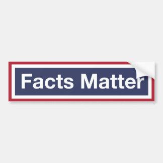 Adesivo De Para-choque Matéria dos fatos