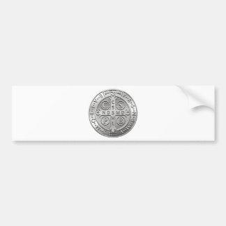 Adesivo De Para-choque Medalha transversal de Benedict da rua