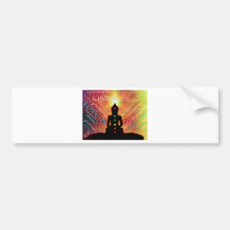 Adesivo De Para-choque Meditação