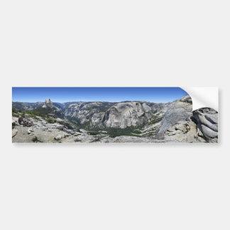 Adesivo De Para-choque Meios abóbada e vale de Yosemite - Yosemite