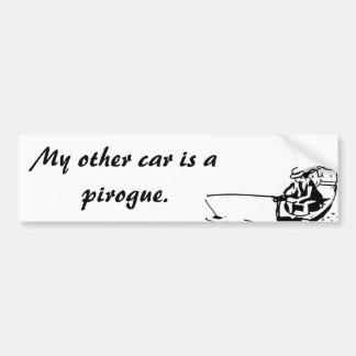 Adesivo De Para-choque Meu outro carro é um autocolante no vidro traseiro