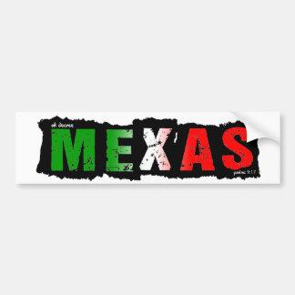 ADESIVO DE PARA-CHOQUE MEXAS
