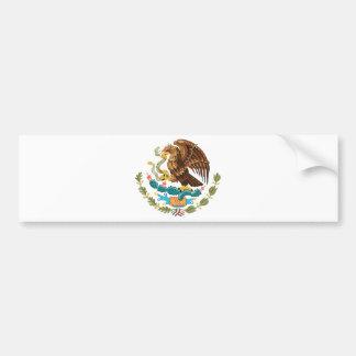 Adesivo De Para-choque Mexicano Eagle e cobra