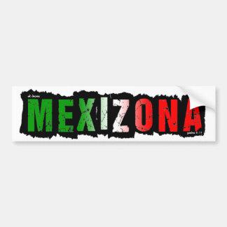ADESIVO DE PARA-CHOQUE MEXIZONA