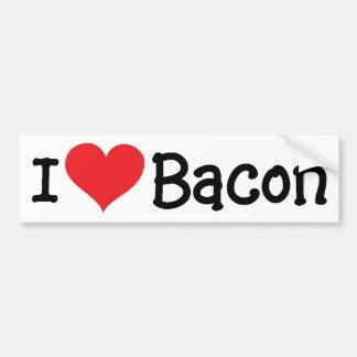 Adesivo De Para-choque Mim bacon [do coração] - etiqueta