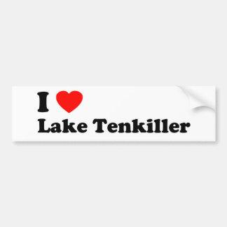 Adesivo De Para-choque Mim lago Tenkiller heart
