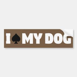 Adesivo De Para-choque Mim pá meu cão (eu Spayed meu cão)