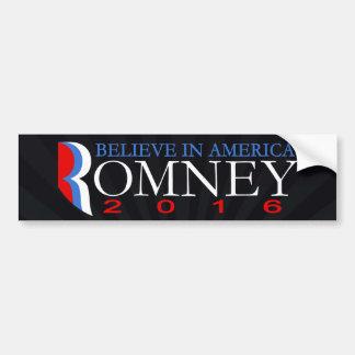 Adesivo De Para-choque Mitt Romney 2016 políticos republicanos