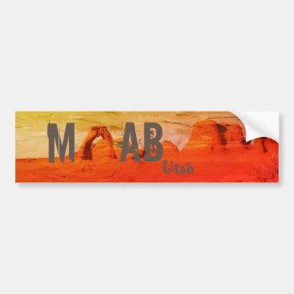 Adesivo De Para-choque Moab Utá arqueia o parque nacional