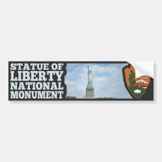 Adesivo De Para-choque Monumento nacional da estátua da liberdade