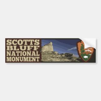 Adesivo De Para-choque Monumento nacional do blefe de Scotts