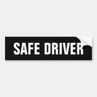 Adesivo De Para-choque Motorista seguro
