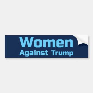 Adesivo De Para-choque Mulheres contra o trunfo
