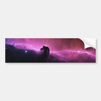 Adesivo De Para-choque NASA de Barnard 33 da nebulosa de Horsehead