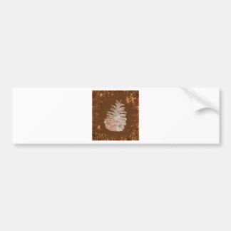 Adesivo De Para-choque Natal abstrato Pinecone