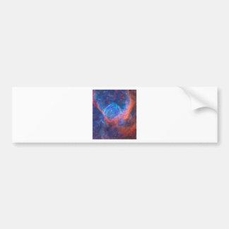 Adesivo De Para-choque Nebulla abstrato com a nuvem cósmica galáctica 29