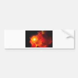 Adesivo De Para-choque Nebulla abstrato com a nuvem cósmica galáctica 30