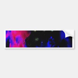 Adesivo De Para-choque Nebulosa do espaço