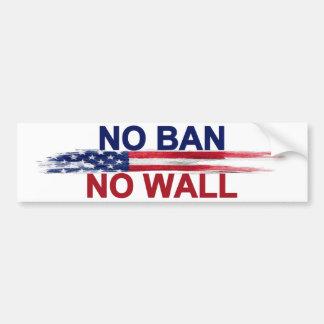 Adesivo De Para-choque Nenhuma proibição nenhuma parede