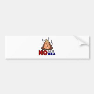 Adesivo De Para-choque NoBanNoWall nenhuma proibição nenhuma proibição da