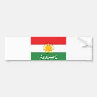 Adesivo De Para-choque nome árabe do texto do país da bandeira do