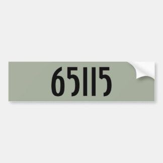 Adesivo De Para-choque Números & nome no autocolante no vidro traseiro