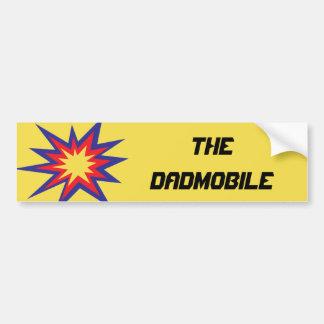 Adesivo De Para-choque O autocolante no vidro traseiro de DADmobile