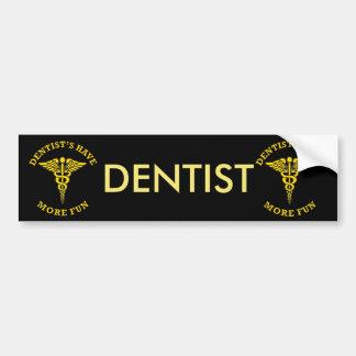 Adesivo De Para-choque O dentista tem mais protetor do costume do