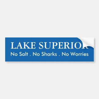 Adesivo De Para-choque O Lago Superior - humor