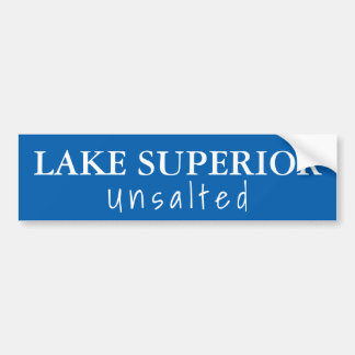 Adesivo De Para-choque O Lago Superior - unsalted