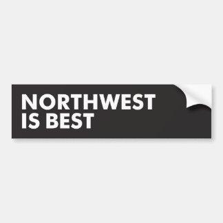 Adesivo De Para-choque O noroeste é o melhor