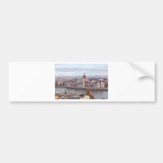 Adesivo De Para-choque O parlamento húngaro Budapest em o dia