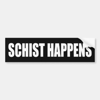 Adesivo De Para-choque O Schist acontece